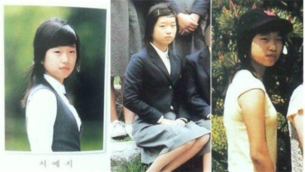 一名自称是徐睿知高中同学的网民爆出她昔日的旧照。