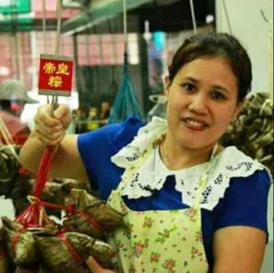 新加东肉粽专卖店业者陈佩凤。