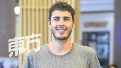 今年33岁的马丁,来自南美洲乌拉圭,来马发展已有7年。当初他只想留在不同的国家尝试不一样的事物而定居我国,没想到一留就是7年。