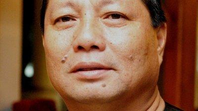 土著团结党柔州主席玛兹兰。