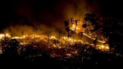 亚马逊森林火灾酿国际危机 欧洲威胁对巴西祭商业制裁