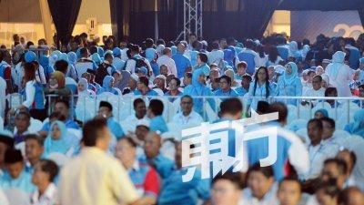 【公正党大会】23理事抨安华演词破坏党团结