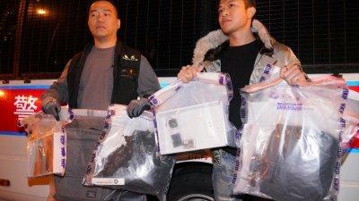 香港发现强大杀伤力土制弹