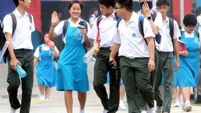 求学中的16岁少年,是否拥有足够的政治成熟度加入政党,乃国人热议的课题之一。(档案照)
