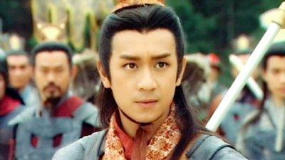 """陈浩民饰演的经典角色之一""""李哪吒""""。"""