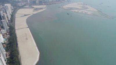 葛尼水岸即将在9月杪完成占地40英亩填海工程,槟州政府将在该地段展开葛尼水岸的工程。