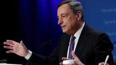 德拉吉表示,如果通胀没有回到目标水平,央行将再次放松政策。