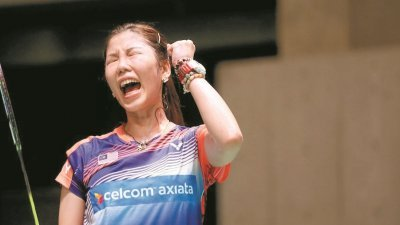 在吴堇溦长期休战之下,谢抒芽(图)将是国羽女单冲奥的唯一筹码。