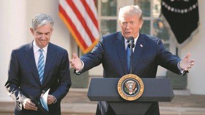 特朗普再次批评鲍威尔没有降低利率,以帮助美国与中国竞争。