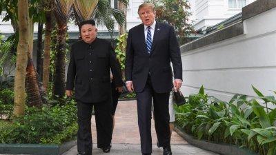 美朝今年2月在越南河内的峰会破局后,双方会谈陷入停滞不前的僵局。