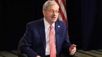 美国驻中国大使布兰斯塔德