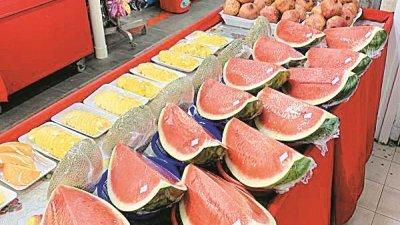 西瓜两周前因为货源不足起价,涨幅约10%。