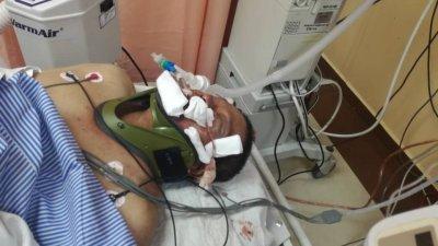 与山猪发生碰撞的志愿警卫团成员阿南阿都拉目前仍昏迷不醒。