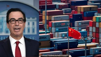 【中美贸易战】美财长:若无达成贸易协议 12月将对中国货品加征关税