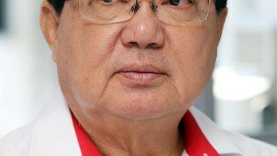 民政党柔州联委会主席张国智。