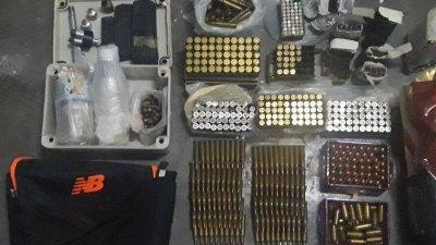 经鉴证组调查后证实,警方共起获689颗各类型子弹。