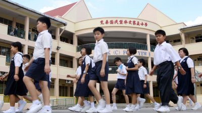 宏愿学校的概念,是让华小、泰米尔小学及国小3个不同源流的学校,虽然行政不同,但使用共同的校园及学校设备上课。(档案照)