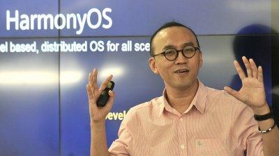 华为全球产品营销官黄家文在媒体圆桌会议上,分享最新发布的鸿蒙OS系统及5G SoC芯片麒麟990的详细资讯。