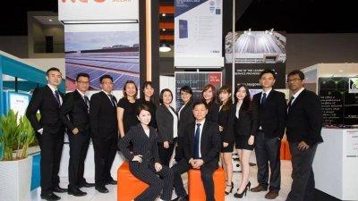 陈文德率领的Ray Go Solar团队,成功在我国市场占有一席之位。(受访者提供)