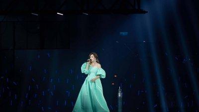 梁静茹台北小巨蛋两场巡演,于27日晚圆满落幕。