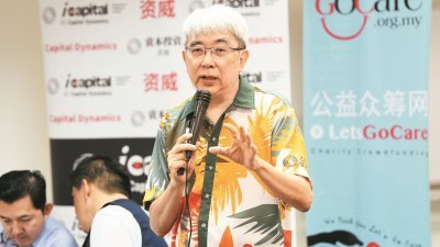 资威董事经理陈鼎武。