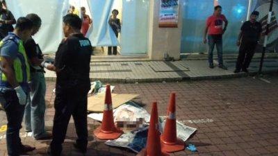 太平中年华妇从广场6层楼停车场坠下楼,当场重身亡。
