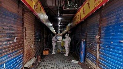 武汉华南海鲜市场,被怀疑是这波肺炎的源头。
