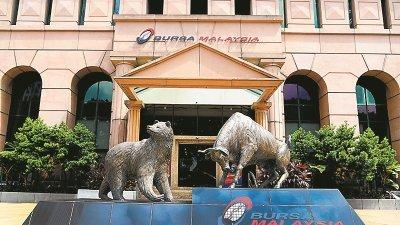 大马交易所全年净利按年下跌17.04%,至1亿8586万令吉。