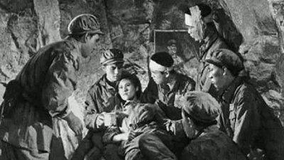 中国央视周日晚播出抗美援朝经典电影《上甘岭》。