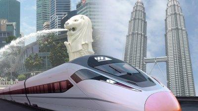 首相署回应,马新两国仍对隆新高铁计划(HSR)进行谈判工作。(档案照)