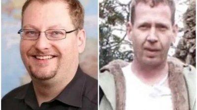 斯特凡(左)涉嫌杀害并吃掉特罗吉施(右)。