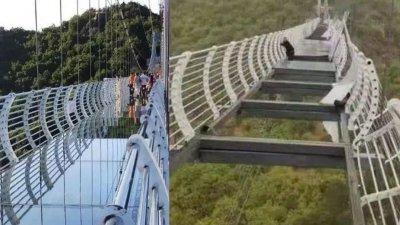 事发前和事发后的照片。